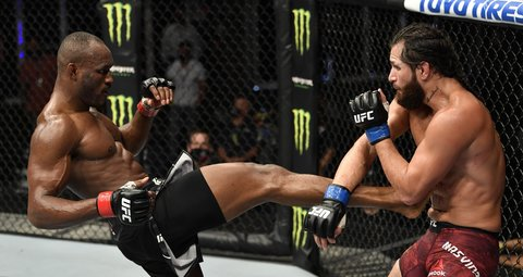 Usman defeats Masvidal to defend title in Abu Dhabi's Fight Island