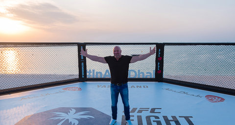 "Dana White: Abu Dhabi could become ""Fight Capital of the World"""