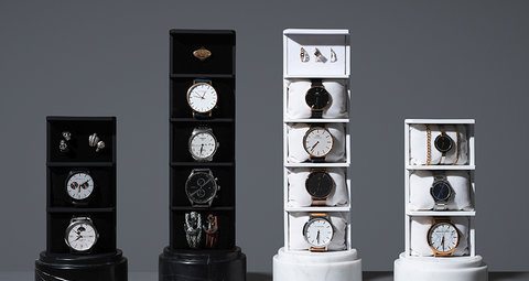 Make your watch collection look like it belongs in a museum