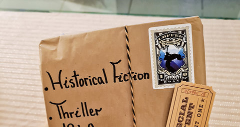 Citizen Book will deliver an unknown book to your door