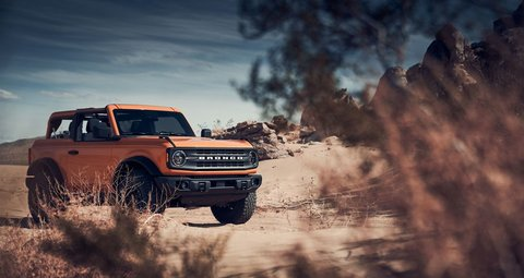 After 25 years the 2021 Ford Bronco is back