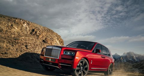 The Rolls-Royce Cullinan takes luxury to new heights