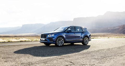 Bentley Bentaga Speed is an SUV you'd go drag racing in