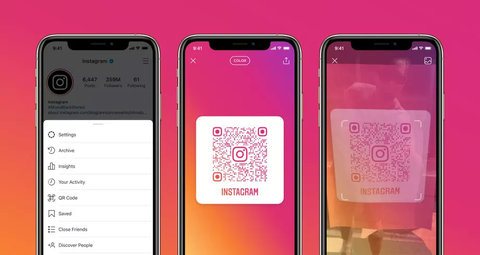 How to find your Instagram QR code and gain more followers