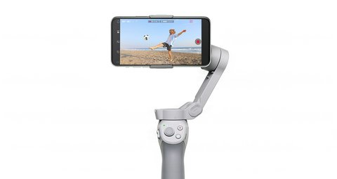 DJI's new OSMO stabilizer uses magnets to hold up your phone