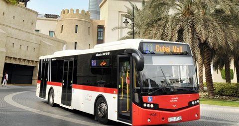 Robot bus drivers? Dubai will use AI to improve public transportation
