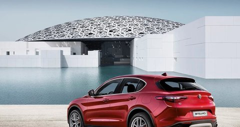 To The Louvre Abu Dhabi (and back) in Alfa Romeo's Stelvio Quadrifoglio