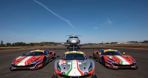 Private jet company will fly Ferrari drivers anywhere in the world