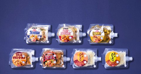 You can eat these Cup Noodles in space