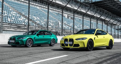 BMW unwaraps new M3 and M4 series for 2021