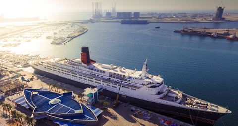 Dubai's QE2 floating hotel will reopen on October 1
