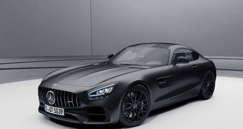 Mercedes-AMG GT now available in stealth black