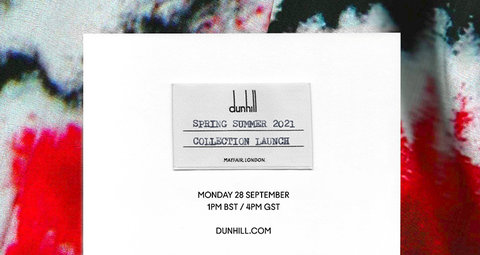 Watch Dunhill's spring/summer 2021 show with us live