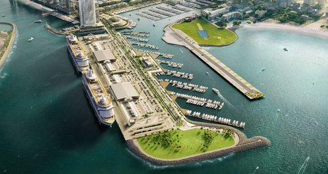 Dubai's Harbour Marina is now open for business
