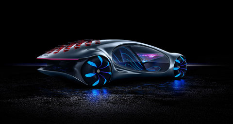 Forget Avatar 2. I want to watch Mercedes Avatar-inspired supercar instead