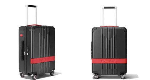 Montblanc's new suitcase comes with Pirelli race tires