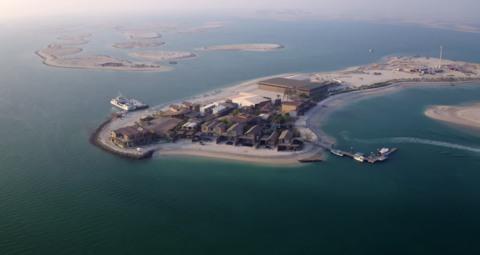 Vlogger becomes first guest to stay the night on Dubai's World Islands