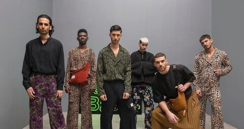 The first-ever Men's Arab Fashion Week makes a big style statement