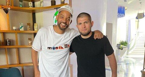 Will Smith and Khabib Numagomedov just linked up in Dubai