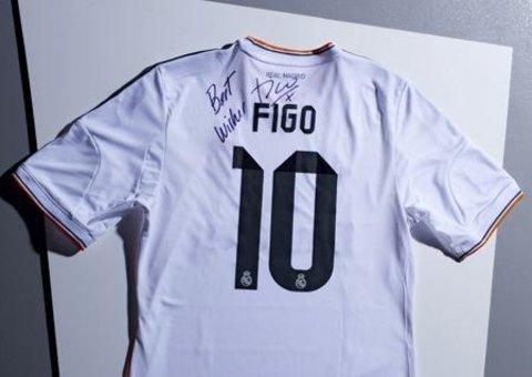 WIN! A signed Luis Figo shirt
