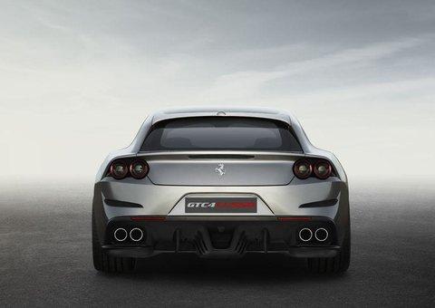 Revealed: Ferrari GTC4 Lusso