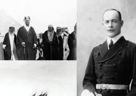 Shakespear and the Saudi King
