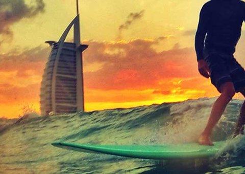 Dubai Sunset Open Surfing