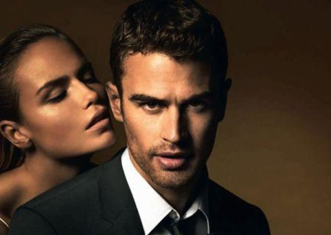 Theo James and Hugo Boss The Scent