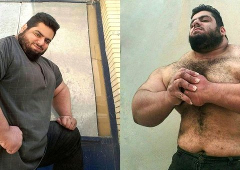 Meet the 'Iranian Hulk'