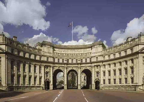 Admiralty Arch is getting a makeover