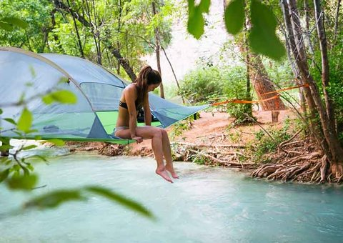 Camping in comfort with Tentsile Tents