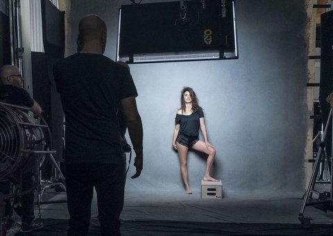 Oh yes! Your first look at the 2017 Pirelli Calendar