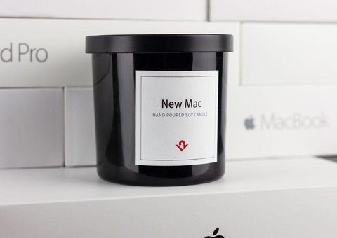 """You can buy a candle that smells of """"New Mac"""""""