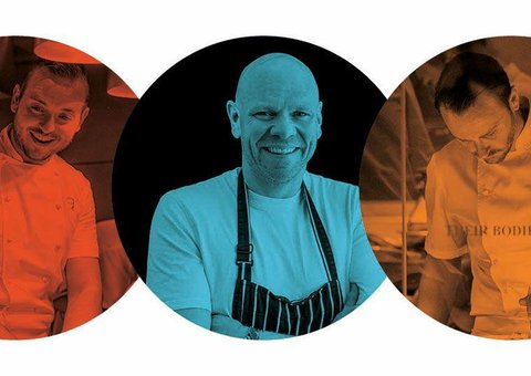 These three star chefs want to cook for you
