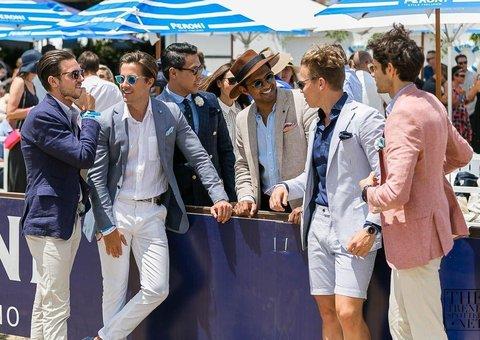 How to dress for polo season