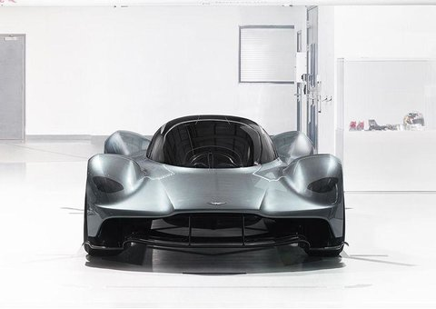 Aston Martin reveals the AM-RB 001 to the Middle East