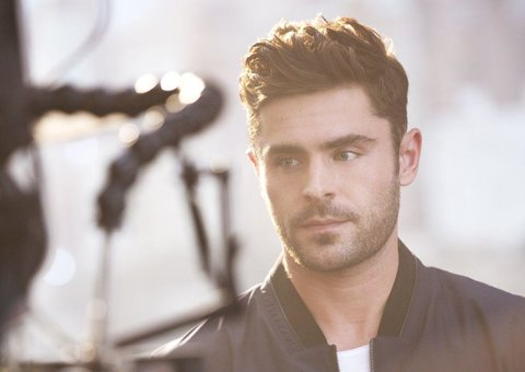 Zac Efron is the new face of Hugo Man