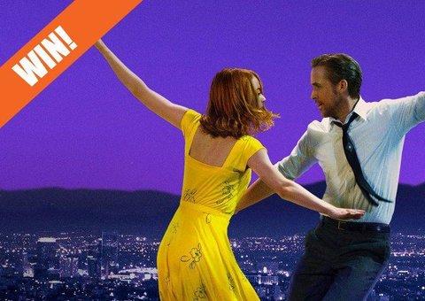 WIN! Cinema tickets to see 'La La Land'