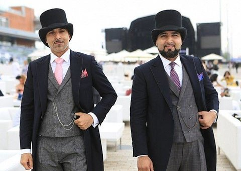 Dubai World Cup best dressed male