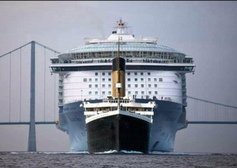 How big was the Titanic?
