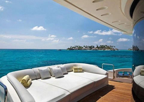 Imagine a Maldives holiday with your own private yacht