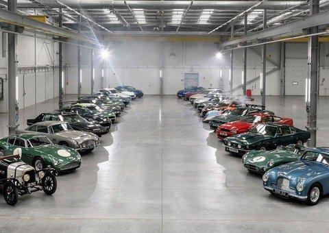 Aston Martin's new lair