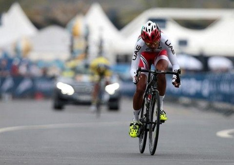 Yousif Mirza: the present (and future) of UAE cycling