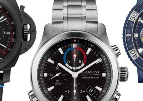 The watches of the 2017 America's Cup