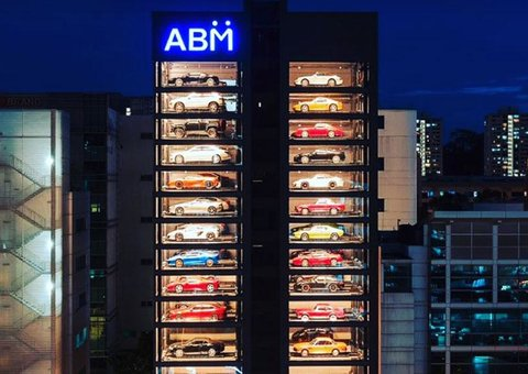 This awesome supercar vending machine is the future