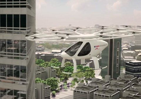 Flying taxi trials to start this year