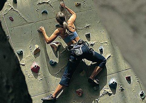 Rock climbing in the UAE