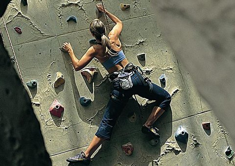 Rock climbing in the UAE