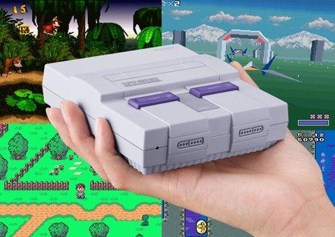 Nintendo unveils the Mini SNES Classic