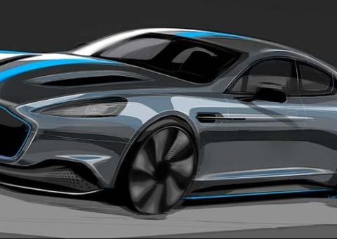 Aston Martin confirms production of first all-electric model